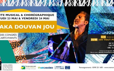 Waka Douvan Jou au Mémorial ACTe, Guadeloupe