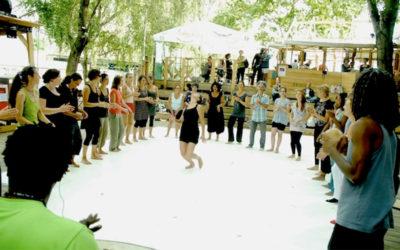 Stage de danse Gwoka au 6B, Saint-Denis