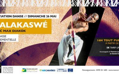 Kalakaswé – atelier danse au Mémorial ACTe
